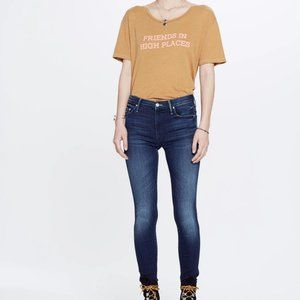MOTHER High Waisted Looker Tongue In Chic Jean